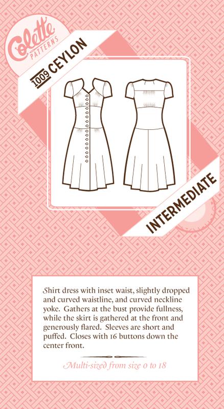 Colette Patterns - Ceylon Dress
