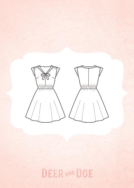 Deer & Doe - Reglisse Dress