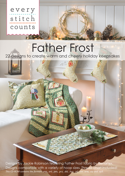 Father Frost embroidery collection