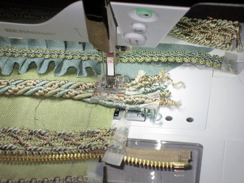 Clear Embroidery Foot #39