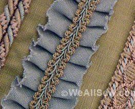 Sewing machine presser feet - embellishments
