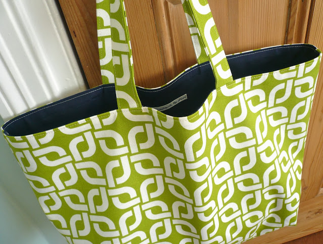 DIY Reversible Shopping Bag