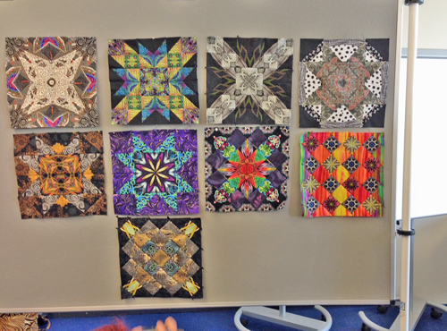 student quilts