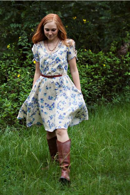 Sew Liberated - Clara Dress