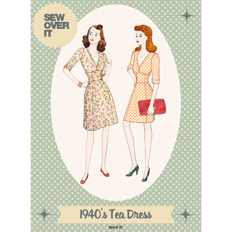 Sew Over It patterns - 40s Tea Dress