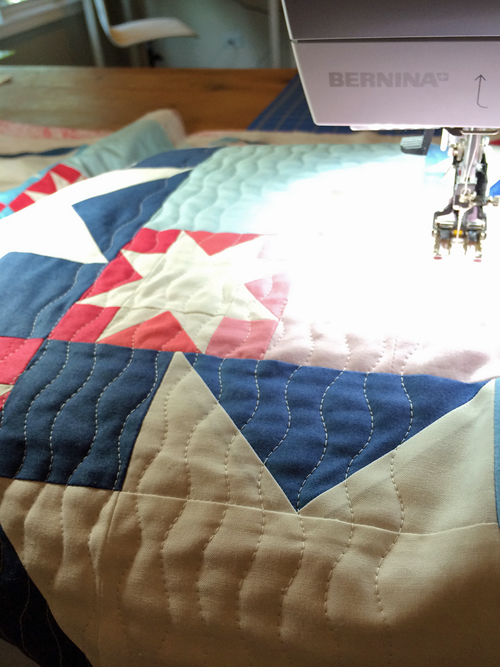 running stitch quilting