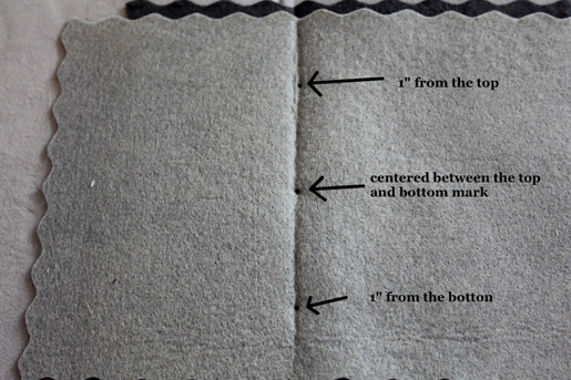 sewing guidelines