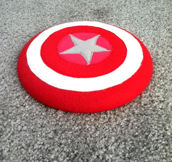 DIY Superhero Shield