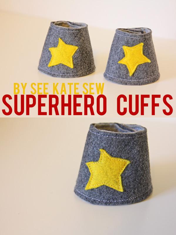 DIY Superhero Cuffs