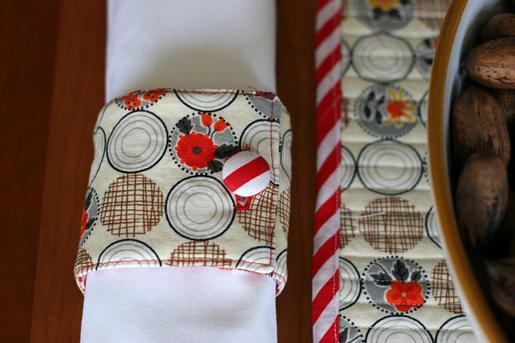 reversible napkin rings