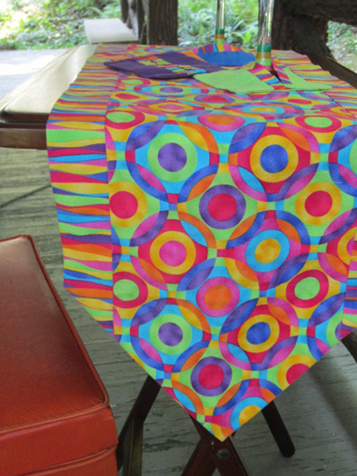 Pattern for table runner in 10 minutes project pdf for 10 minute table runner instructions