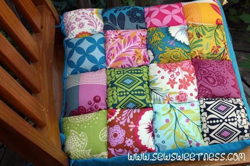 puff-quilt chair cushions