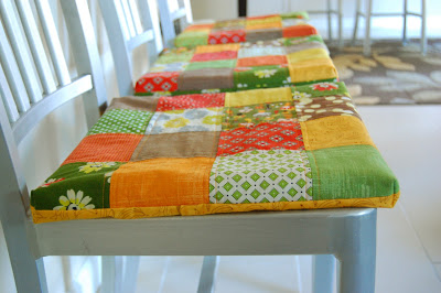 quilted seat cushions