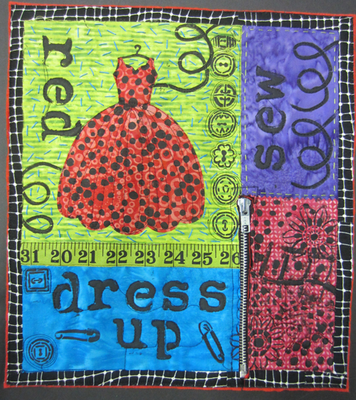 Dress Up Quilt - finished