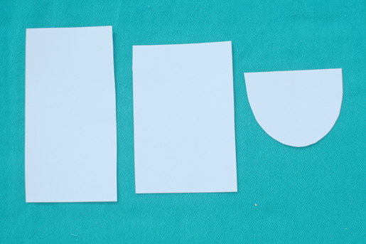 pattern pieces - templates