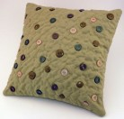 pillow with buttons