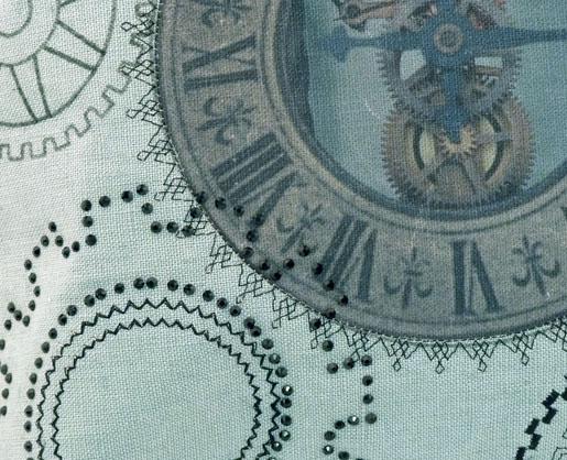 SteamPunkPillow-Detail