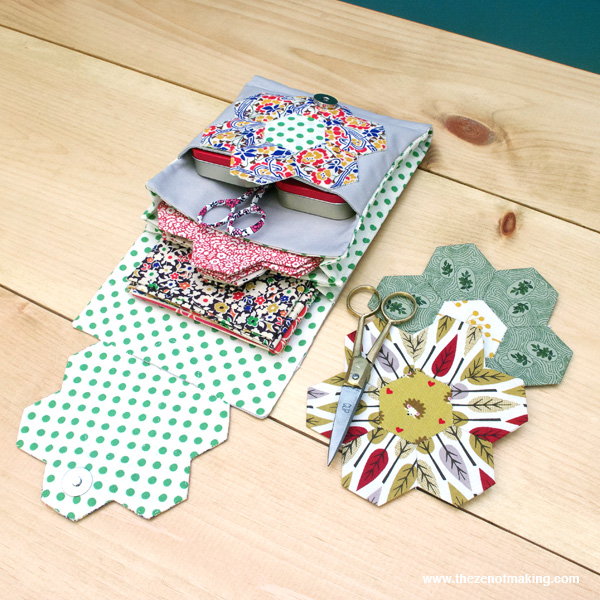 DIY hexagon sewing kit