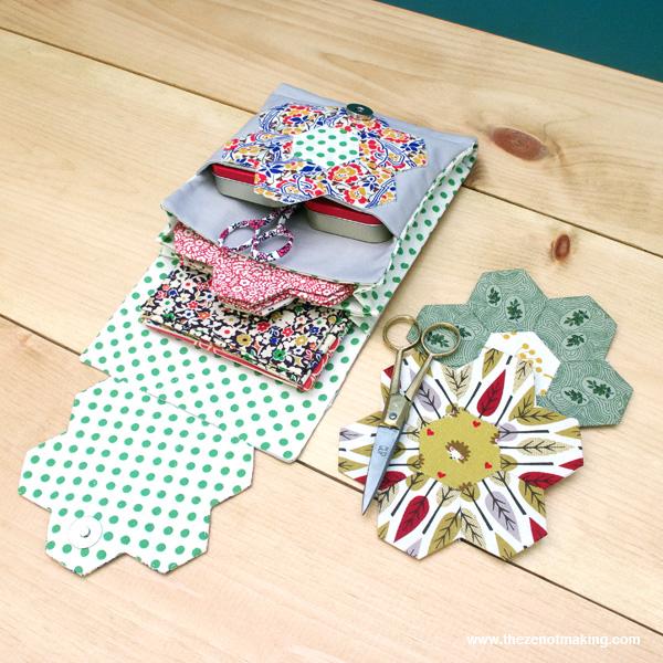 DIY hexagon sewing kit