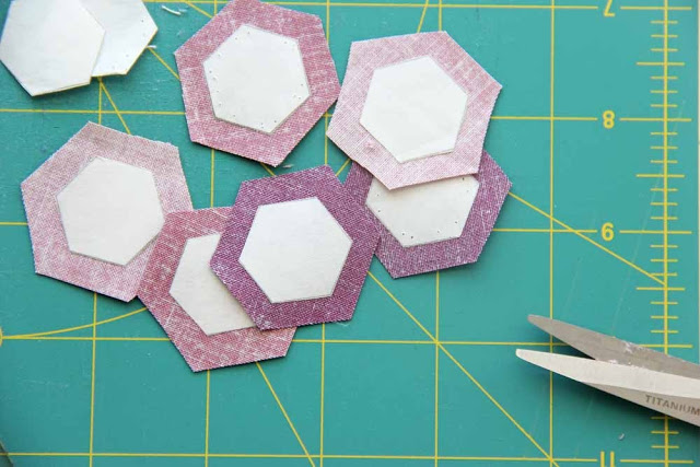 hexagon paper piecing tips