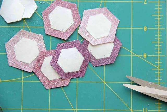 hexagon paper piecing tips