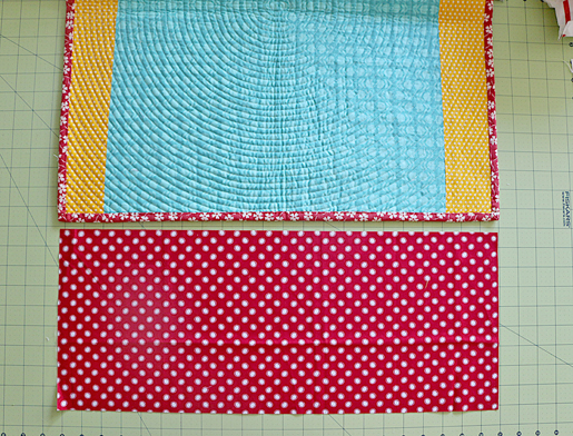 quilt sleeve steps