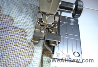 sewing machine blind hem