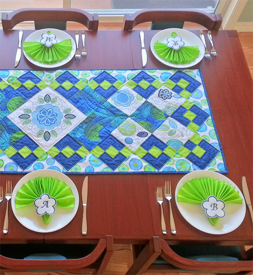 Ecco Table Runner Tutorial