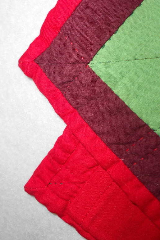not-so-perfect quilt binding