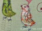 retro birds