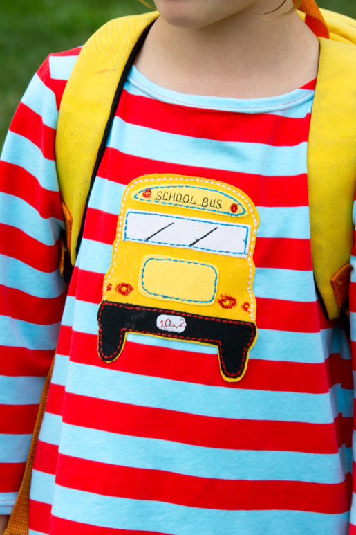 school bus t-shirt