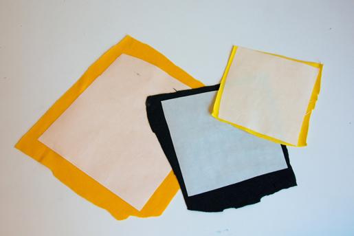 adhesive-backed fabric