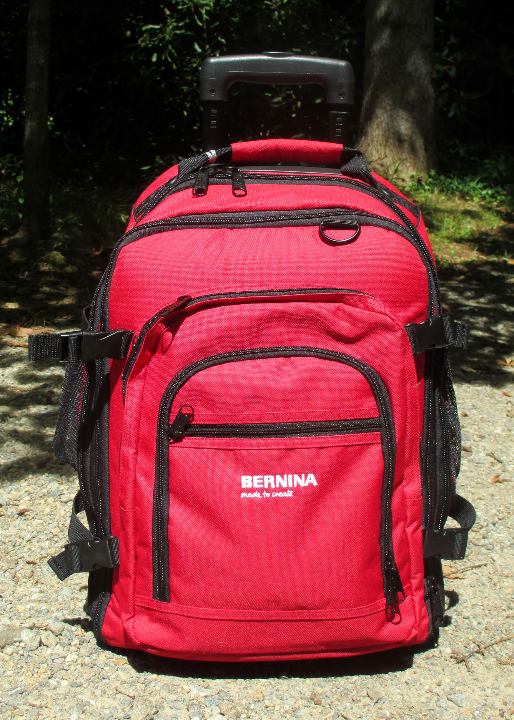 Win a BERNINA back pack!