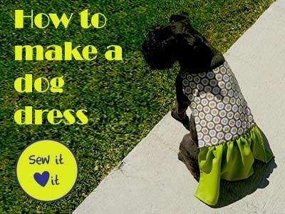 DIY doggie dress