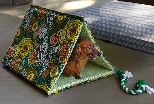 DIY puppy hut