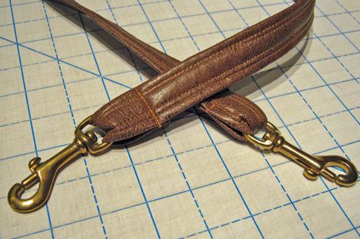 pleather straps