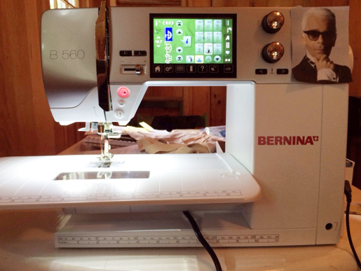 B 560 sewing machine