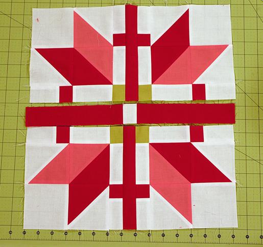 fair isle patchwork block