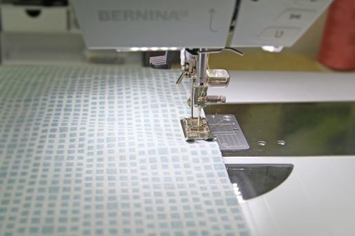 sewing a seam