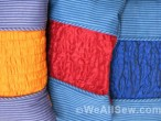 DIY Chainstitch-Smocked Pillows