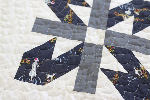 scallop quilting