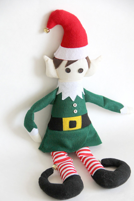 DIY Christmas Elf - free pattern and tutorial