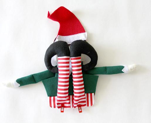Diy Christmas Elf Weallsew