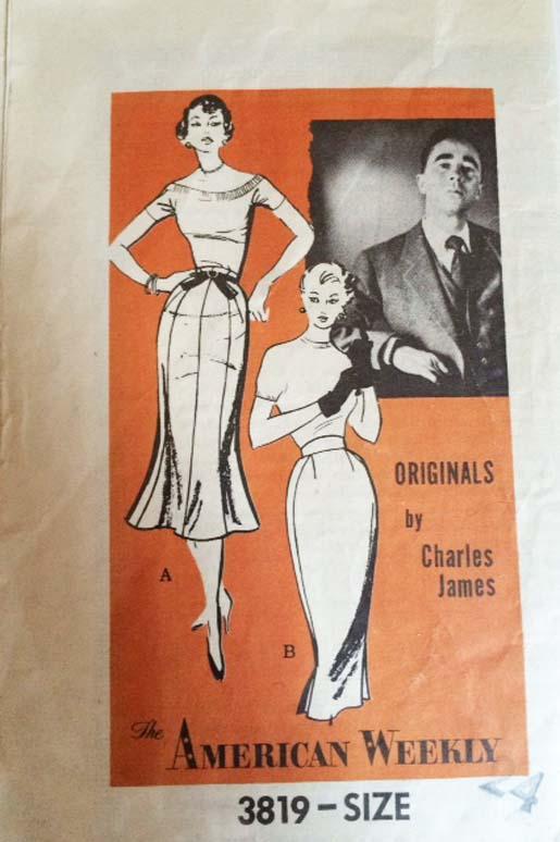 Charles James pattern