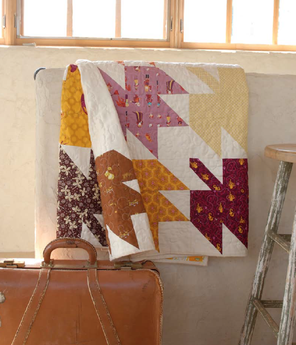 Free leaf quilt pattern