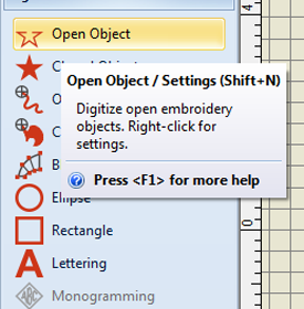 open object tool