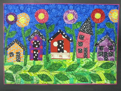 How To Make A Whimsy House Art Quilt Weallsew Bernina