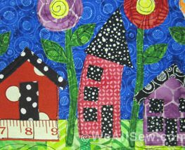 Whimsy Houses Quilt