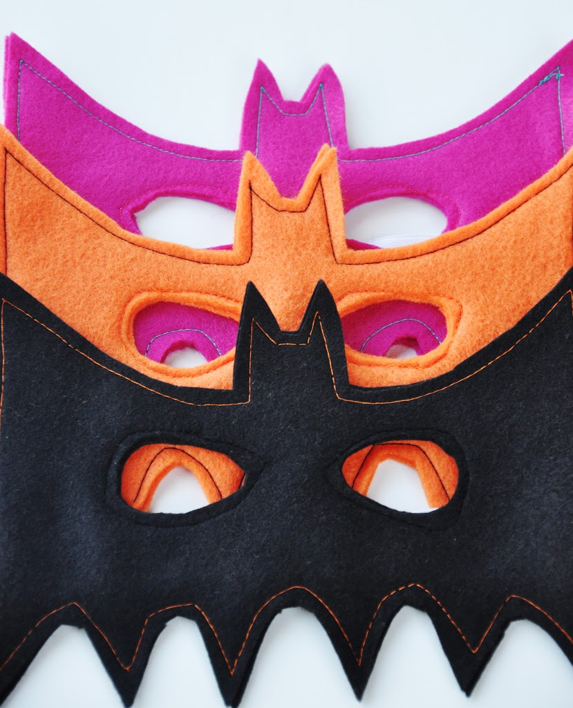 DIY halloween bat mask