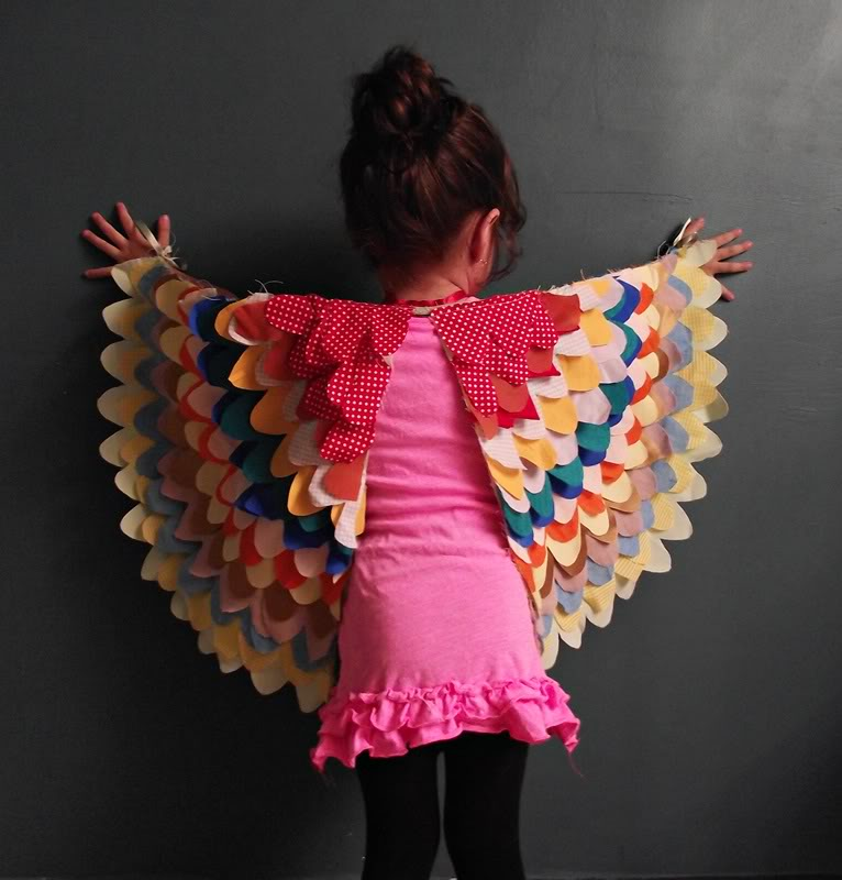 DIY costume wings